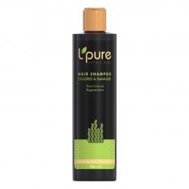 لپیور شامپو حاوی گیاهان دریایی اسپیرونا مناسب موهای رنگ شده و آسیب دیده