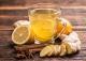 چای سبز، زنجبیل و لیمو