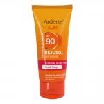 آردن کرم ضد آفتاب و ضد چروک برای پوست های نرمال و خشک بژ هلویی اس پی اف 90