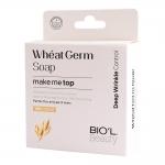 بیول صابون آرایش پاک کن شیر کرمی ضد پیری جوانه گندم مناسب پوست های خشک