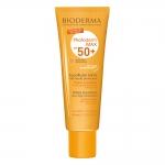 بایودرما ضد آفتاب فتودرم آکوا فلوئید مکس اس پی اف بالای 50 بژ طلایی مناسب پوست چرب و مختلط