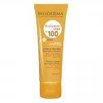 بایودرما کرم ضد آفتاب فتودرم مکس اس پی اف 100 بژ روشن مناسب پوست نرمال تا خشک