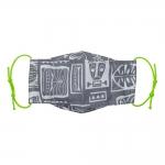 همسان ماسک تنفسی پارچه ای مدل لاله
