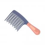 دلگان شانه پلاستیکی 2 تیغه مناسب موی فر 20 سانتی