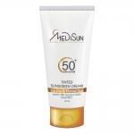 مدیسان کرم ضد آفتاب رنگی مناسب پوست خشک و معمولی اس پی اف 50