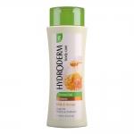 هیدرودرم شامپو بدن کرمی با رایحه عسل و شیر