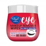 دافی دستمال مرطوب پاک کننده آرایش دور چشم چهل و پنج عددی